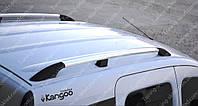 Оригинальные рейлинги Рено Кангу 1 (рейлинги на крышу Renault Kangoo 1 концевик.АВС)