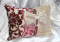 """Декоративная подушка """"Бант"""" (в наличие)"""