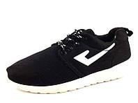 Женские кроссовки под Nike Roshe Run (Black)