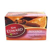 Чай ройбуш, апельсин, корица пакетированный Sir Edward Tea Rooibos 20пак (Польша)