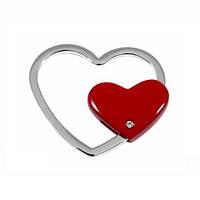 Брелок Два Сердца