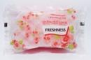 Губки банні ТМ Freshness №2 (рожева) (шт.)