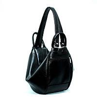 Сумка-рюкзак трансформер женский черная №1310