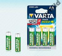 4шт аккумулятор R06 Varta AA 2400 Ready 2 Use