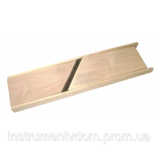 Терка-шинковка деревянная для корейской морковки (упаковка 10 шт)