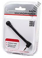 Мини микрофон для ноутбука 3,5мм Gembird MIC-204