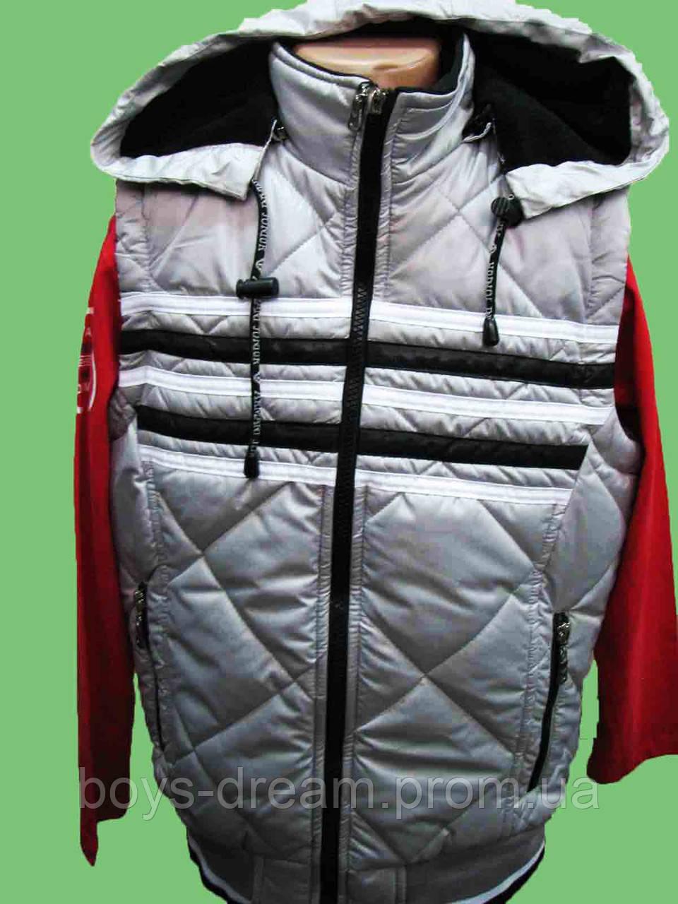 Жилетка для мальчика 10-11 лет 146 (Турция)