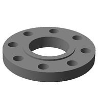 Фланец плоский DN 100 PN 100 Ст. 20  EN 1092-1 (Type 01, Form E)