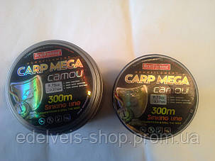 Волосінь BratFishing carp mega camou 300m (камуфляж) 0.35, фото 2