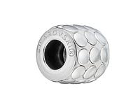 Бусины Pandora от Сваровски 80701 Silver Metallics Brushed