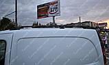 Рейлинги на крышу Рено Кангу 2 (продольные рейлинги Renault Kangoo 2 концевик.сталь), фото 3