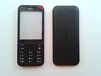 Корпус к мобильному телефону Nokia 225  Black full