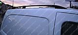 Рейлинги на крышу Рено Кангу 2 (продольные рейлинги Renault Kangoo 2 концевик.сталь), фото 4