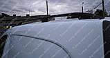 Рейлинги на крышу Рено Кангу 2 (продольные рейлинги Renault Kangoo 2 концевик.сталь), фото 5