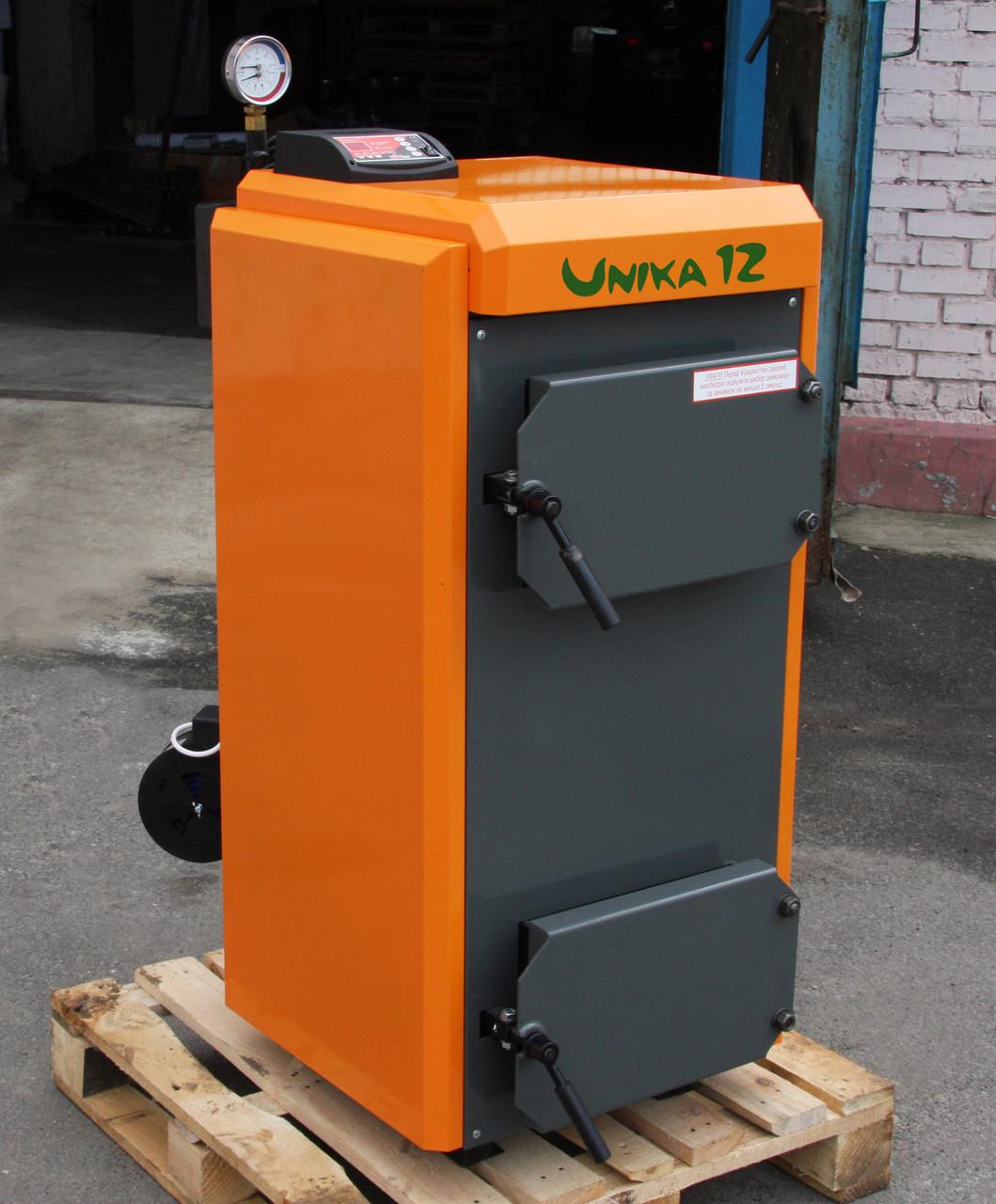 Котёл пиролизный твердотопливный КОТэко Unika (Уника), 30 кВт