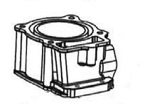 Цилиндр (70мм) -- DAKAR 250 2V (2012)