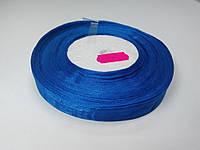 Лента органза 15 мм ярко-синяя