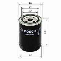 Фильтр масляный ГАЗ 3110 - дв.406 (2,3 16V), ВАЗ, Fiat, Skoda (производство Bosch ), код запчасти: 0 451 203 154