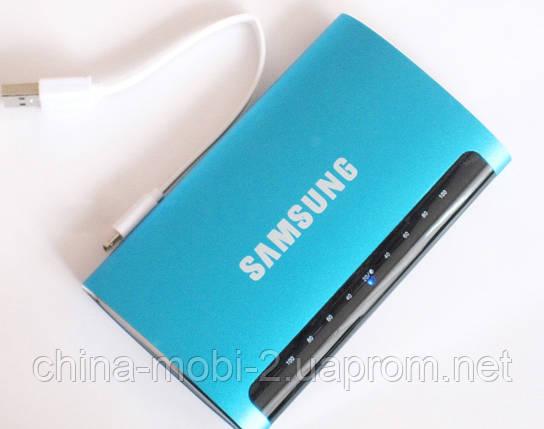 Универсальная батарея - Samsung Power Bank 12000 mAh, blue, фото 2