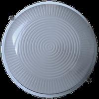 Светильник баня-сауна НББ 100вт IP54 Круг E27 Белый ST-297