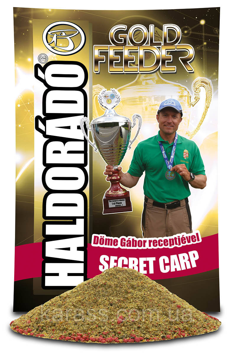 HALDORÁDÓ GOLD FEEDER - SECRET CARP