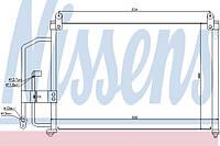 Радиатор кондиционера Daewoo Lanos 1997--> Nissens (Дания) 94412