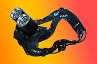 Налобный тактический фонарь Police BL-Т25-2хT6 158000W
