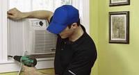 Диагностика оборудования оконного типа при условии монтажа в нижней части окна