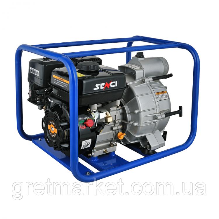 Мотопомпа бензиновая SENСI SCWT80 (для грязной воды)