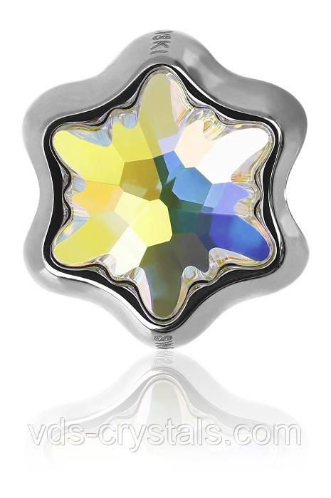 Бусины в cтиле Пандора Swarovski BeCharmed 81961 Crystal АВ - Стразы Swarovski от официального представителя - VDS-crystals в Ужгороде