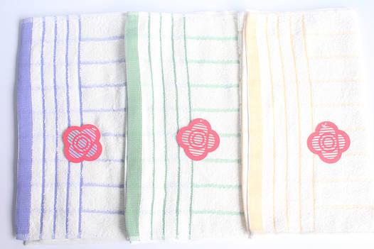 Кухонное махровое полотенце 75х35 плотное, фото 2