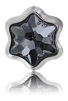 Намистини в стилі Пандора Swarovski 181961 Silver Night, фото 1