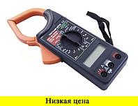 Токовые клещи DT 266 C мультиметр тестер