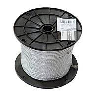 Трос стальной оцинкованный DIN 3055 5 мм (бухта 100 м. п.)