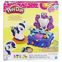 Плей-Дох Май Литл Пони игровой набор Туалетный столик Рарити Play-Doh My Little Pony Rarity Style