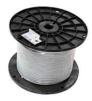 Трос стальной оцинкованный DIN 3055 8 мм (бухта 100 м. п.)
