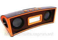 Портативная MP3 колонка от USB SD FM TY-02  Orange TY02, TY 02, MicroSD, радио, FM, SDHC, SD, Оранжевая, фото 1