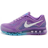 Женские кроссовки Nike Air Max 2014 нежно фиолетового цвета