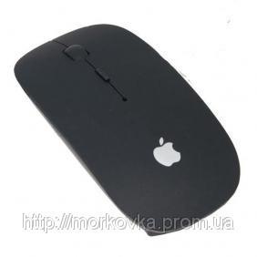 🔥✅ Беспроводная мышка Apple Black (черная) оптическая usb радио мышь 10м
