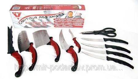 🔥✅ Набор кухонных ножей Contour Pro Knives Контур про