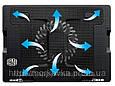 Подставка для ноутбука кулер ColerPad ErgoStand с подсветкой (181, 928) 9-17 дюймов, фото 5
