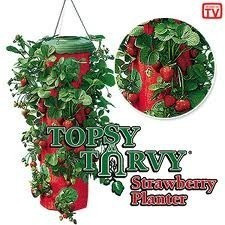 🔥✅ Topsy Turvy, Planter выращивание клубники, хороший урожай,