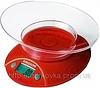Кухонные электронные весы до 5 кг Red EK01,  красные