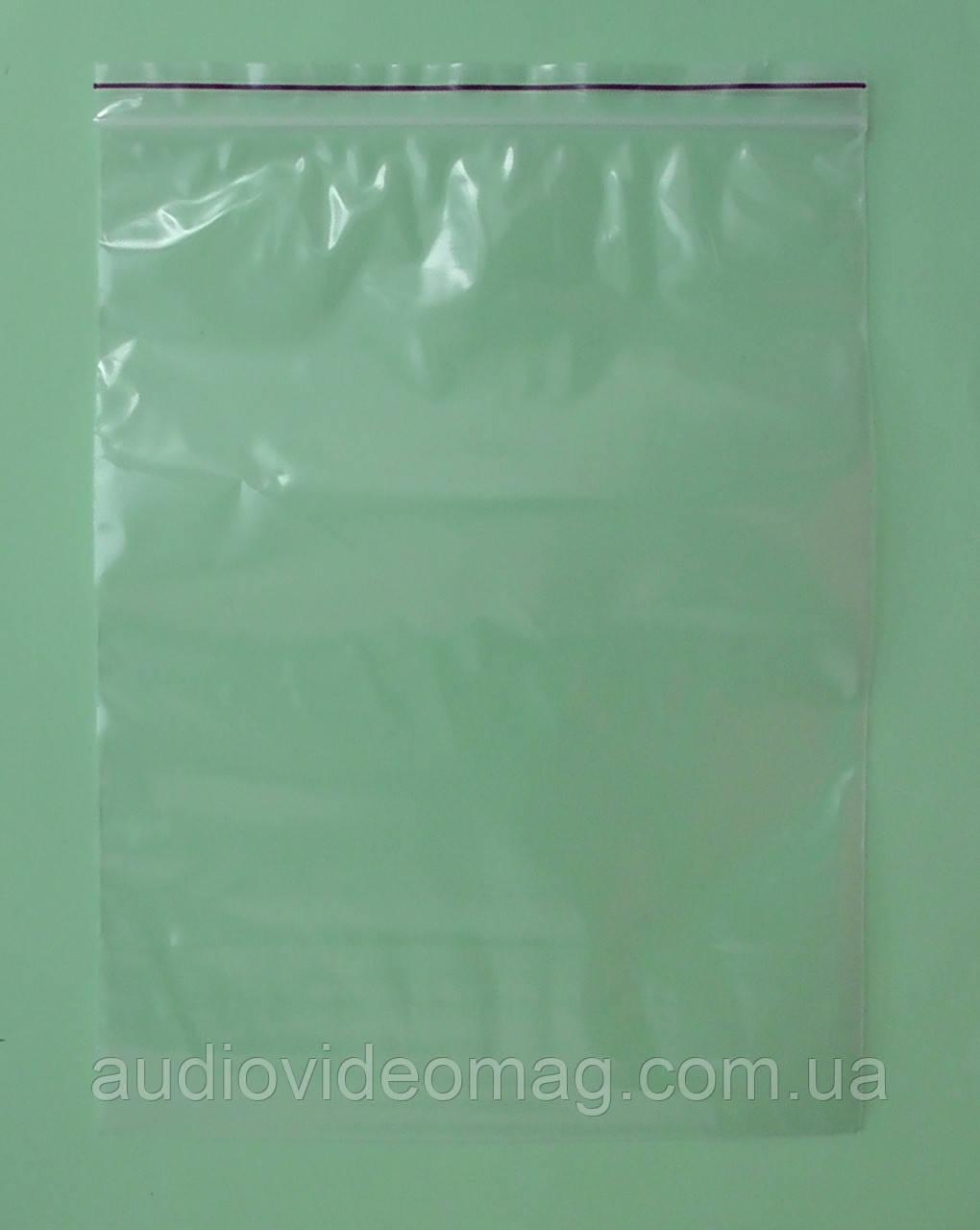 Зип-пакет со струнным замком Zip-lock, размер 15 х 20 см., упаковка 100 шт.
