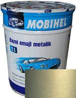 Автомобильная краска Mitsubishi H81 Серебряная HELIOS(Mobihel) BC  1л.