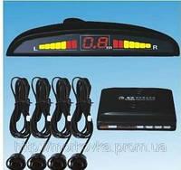 Автомобильный парктроник на 4 датчика + дисплей,  парктроник автомобильный