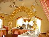 Весільні арки з повітряних та гелієвих кульок, фото 2