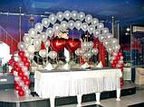 Весільні арки з повітряних та гелієвих кульок, фото 3