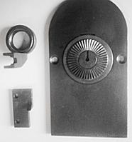 Сменный комплект на швейную машину зиг-заг для изготовления круглой декоративной петли на ткани и коже