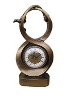 """Часы интерьерные FR-1129k """"Восьмерка"""" цвет золото  44 см."""